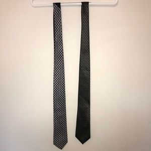 One Tommy Hillfiger, one Croft and Barrow neck tie